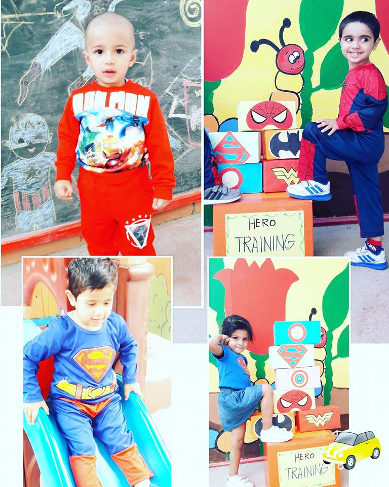 Superhero Day at Kidz International Pre-School 15 March 2018