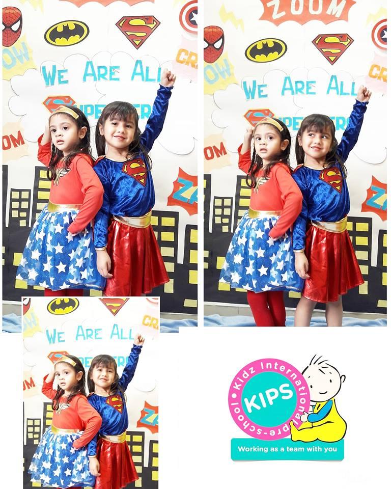 Superhero Day at Kidz International Pre-School 15 March 2018